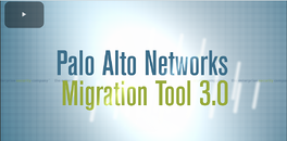 Palo Alto Firewall Migration Plan Tasks List